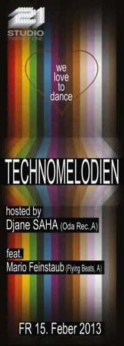 Technomelodien pres. by Djane Saha