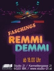 Faschings Remmi Demmi