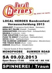 Local Heroes Bandcontest 2013 - OÖ Vorrunde 2