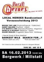 Local Heroes Bandcontest 2013 - Kärnten Vorrunde 4@Bergwerk-Millstatt