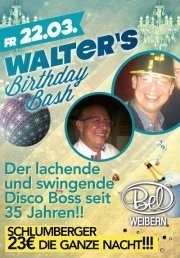 Walters Birthday Bash