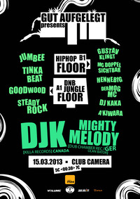 Gut Aufgelegt pres.  Dj K (cdn) & Mighy Melody (ger) // Jungle / Dnb / Raggatek / Hiphop / Dub //