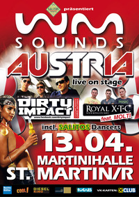 Wm-sounds Austria mit Dirty Impact & Royal Xtc feat. Molti 