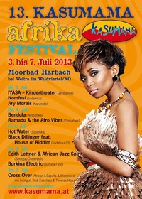 13. KASUMAMA Afrika Festival