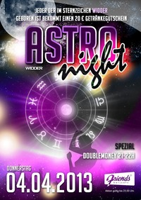 Donnerstag Special - Astro Night