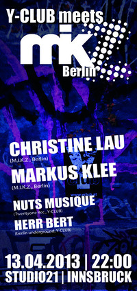 Y-club meets M.I.K.Z. Berlin feat. Christine Lau & Markus Klee