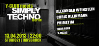 Y-Club meets Simply Techno Berlin