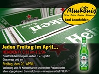 Freitagsaktion im April