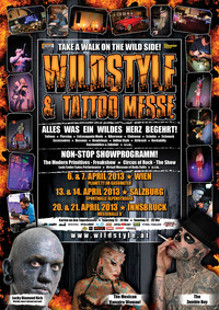 Wildstyle & Tattoo Messe - Salzburg