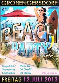 Beachparty 2013