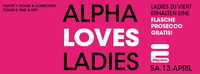 Alpha Loves Ladies  Elysium