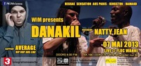 Danakil [F] ft. Natty Jean [Senegal] + support AVERAGE [A]