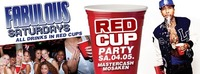 Fabulous Saturdays - Red Cup Party