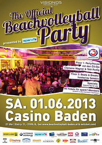 The official Beachvolleyball Party presented by spark7