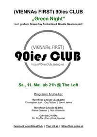 90ies Club: Green Night