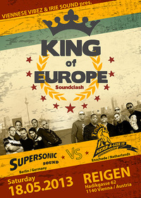 Viennese Vibez & Irie Sound pres. King Of Europe Soundclash