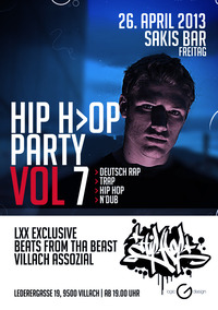 Hip Hop Party Vol 7 mit Jonny der Rapper