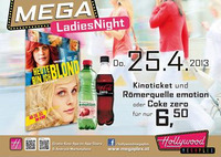 Mega Ladies Night: Heute bin ich blond