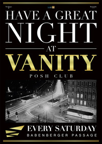 Have a great Night at Vanity - The Posh Club
