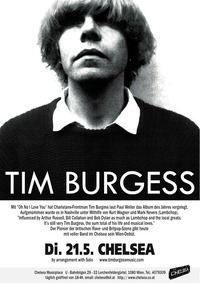 Tim Burgess (Uk) / Hatcham Social (Uk)