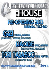Minimal Techno - Re-Opening Full House 2013