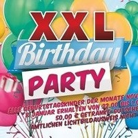 XXL Birthday Party & After Job Party - Cream  Fruits