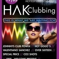 Hak Clubbing - over sixteen