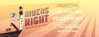 3sixty Riders Night - Stickybuds Canada live
