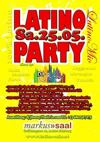 Latino Party mit DJ Jhonny