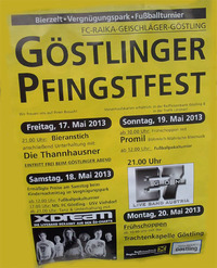 Gstlinger Pfingstfest 2013