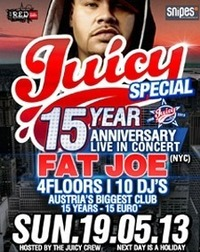 JUICY - 15 Year Anniversary - Fat Joe Live In Concert