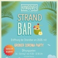 Hangover Strand Bar - groe Erffnungsparty