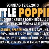 Bottle Popping - Einlass ab 16 Jahren