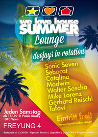 we love house Summer Lounge