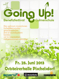 Going Up! Benefizfestival Culmenschule