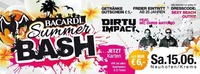 Bacardi Summer Bash   Dirty Impact live