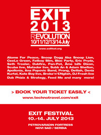 EXIT Festival 2013 - The (R)Evolution begins