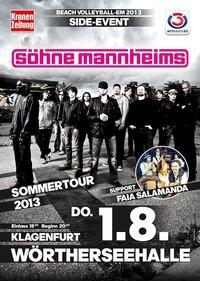 Shne Mannheims live  Krntenhalle, Klagenfurt