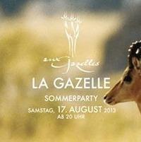 La Gazelle Sommerparty