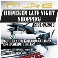Heineken Night Shopping hit DJ Phrenetic - X