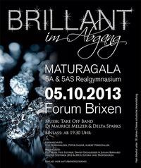 Brillant im Abgang - Maturagala der 5a&5as Realgymnasium Brixen