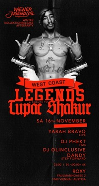 Legends a Tribute to Tupac Shakur