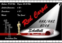 Maturaball der BHAK-HAS Horn - Red Carpet