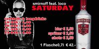 smirnoff Saturday