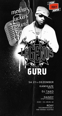 Legends A Tribute To Guru / Gang Starr