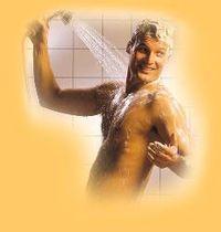 Ich dusche gerne nackt