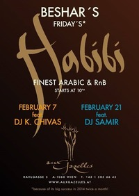 Habibi Night - Now Twice a Month