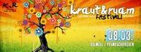 Kraut und Ruam festival on 4 floors