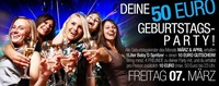 Deine 50 Euro Birthday Party