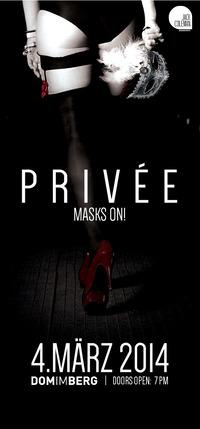PRIVÉE - Put your masks on!
